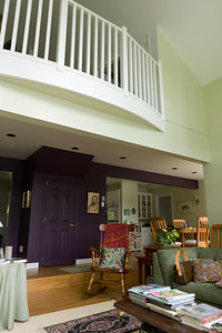 Before we leave the B&B, I must get a shot of the purple wall