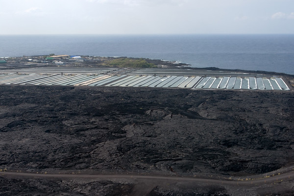 As we take to the air, I get a clear view of the Natural Energy Laboratory of Hawaii