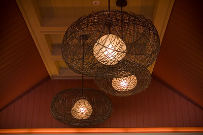 Lobby lamps