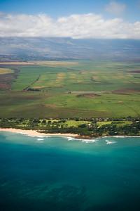 Baldwin Beach and the Maui Country Club