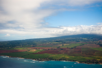 Paia is in the bottom right corner (just missed getting a shot of the main street)