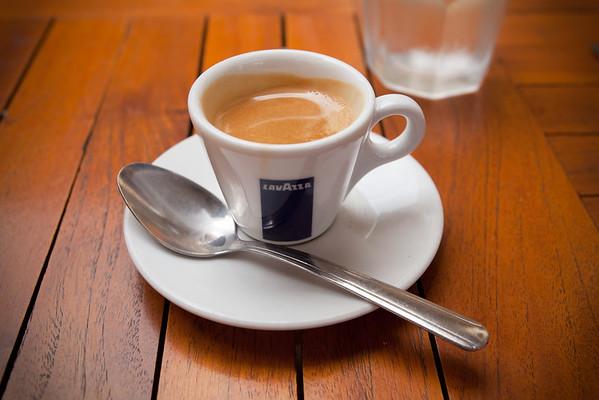 I order an espresso shot