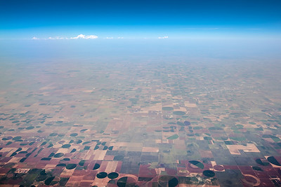 Somewhere over New Mexico or Texas