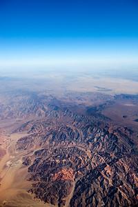 Soaring over California (north and east of Coachella)