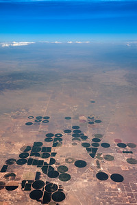 Fields to the north of Moriarty, New Mexico