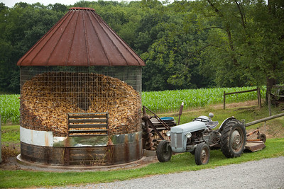 Corn silo