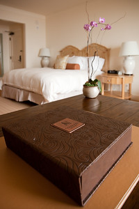 This box contains the hotel directory and guide to services