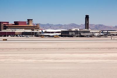 Arrival at McCarran International Airport