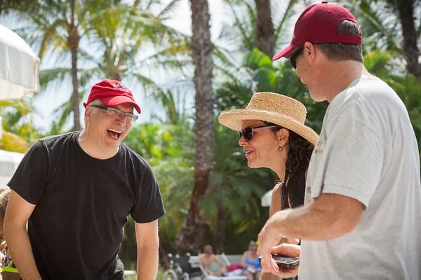 Steve, Beth, David