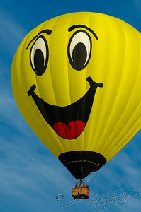 The smiley face balloon was a favorite