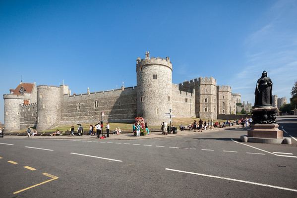 Windsor Castle is just a short walk from the station