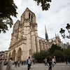 Notre Dame Cathedral low and wide