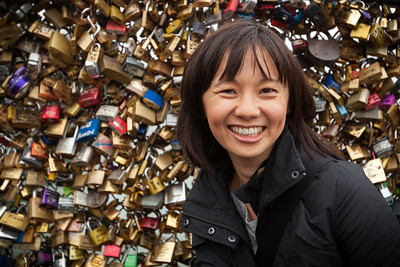 My love on Pont des Arts