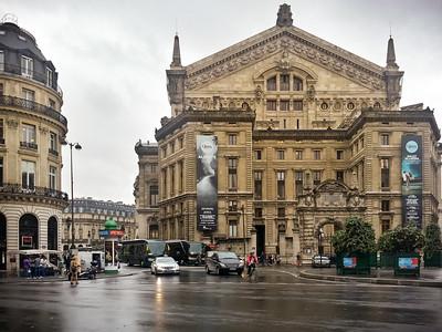 Opéra national de Paris...the back side of Palais Garnier