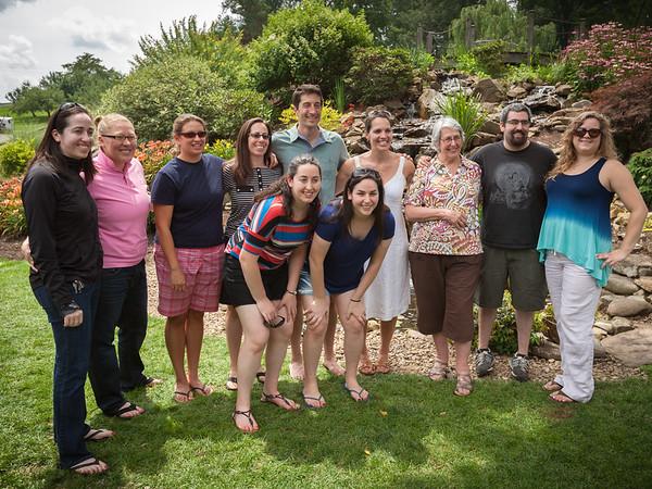 Top row: Emily, Katrina, Elizabeth, Meg, Joe, Brandi, Lynn, Spencer, Caitlyn Bottom row: Remy, Zoë