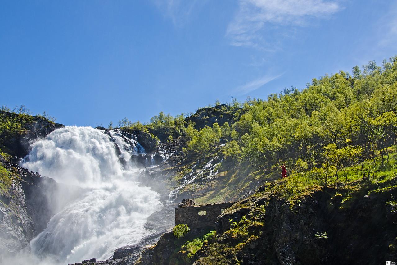 The Hulder in the Kjos Waterfall / Huldra i Kjosfossen