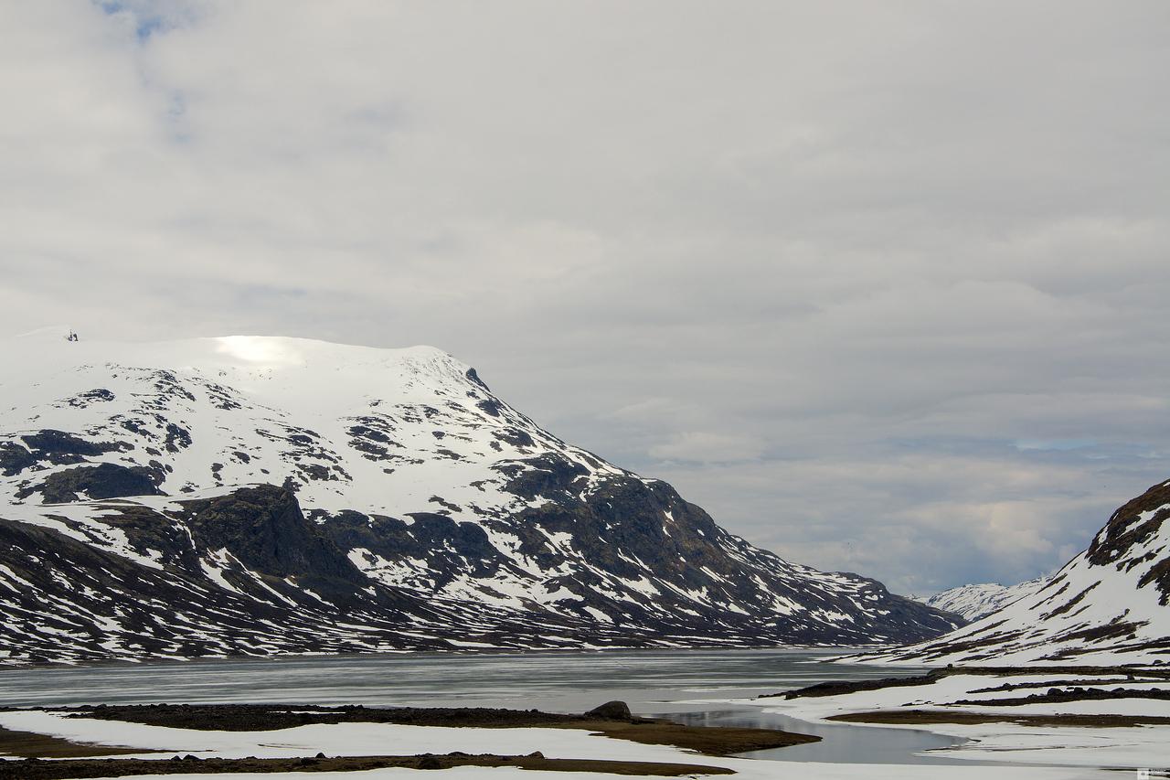 Mount Galdeberget - 2075 m / Galdeberget - 2075 moh.