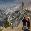 Posing Point on Glacier Point