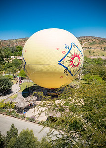 The baloon, as mentioned during our earlier safari, is not operating today