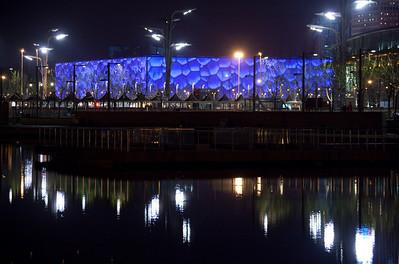 China, Beijing Oplympic Swim Center, Blue Cube