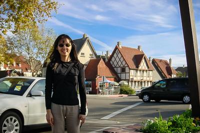 Valerie in Solvang