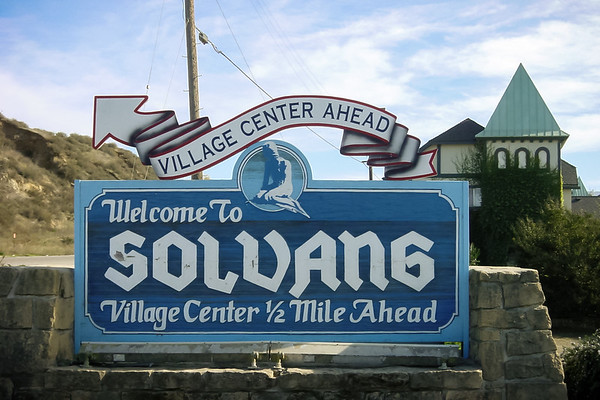 DAY 0 - Valerie and I are taking a road trip to San Franciso, but first stop in Solvang (Photo by Valerie Iwasaki)