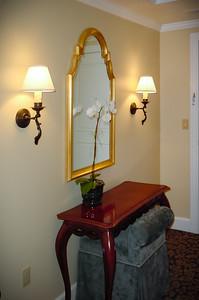 We check into our room at The Ritz-Carlton, Half Moon Bay