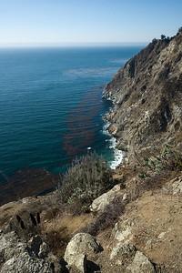 We return to the coast after a brief inland bit through Big Sur