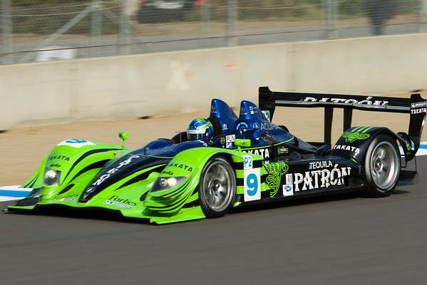 ALMS Practice Session begins, open to all four performance classes (P1, P2, GT1, GT2)
