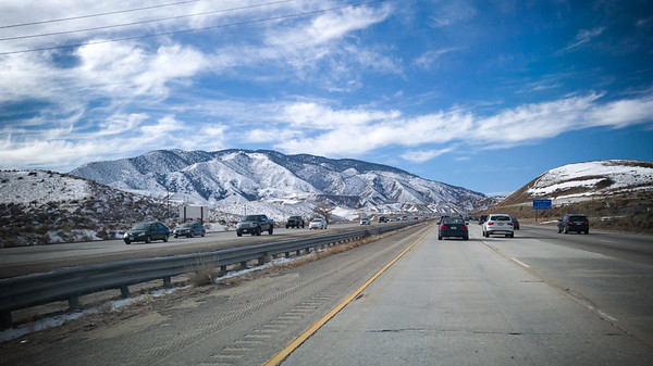 Our first electric road trip is underway.  If there had been snow on the 5 through the Grapevine, we would have elected to go up the 101 instead.