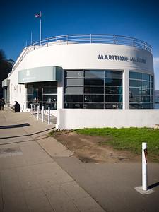 I reach the Maritime Museum as I continue my climb toward Ghirardelli