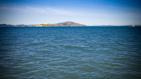 Alcatraz (from the end of Pier 41)...could really use a long lens right now