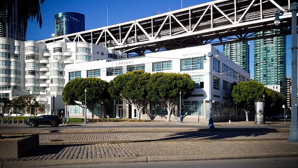 This building is the headquarters of Niantic Labs...you know, that company that launched a mobile game phenomenon that pretty much everyone was playing earlier this year
