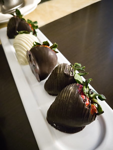 Chocolate anyting is my kind of amenity!