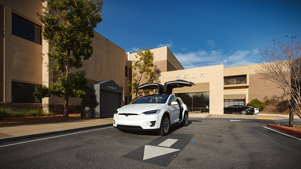 I couldn't come to the Bay Area without visiting Tesla's Headquarters in Palo Alto.  Unfortunately I learn that today is a company holiday, so I can't visit Greg, a colleague who recently joined Tesla's Autopilot team