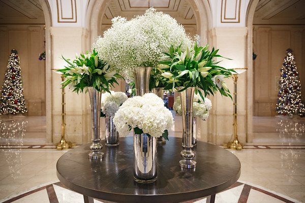 Here's a closer look at the updated floral arrangement