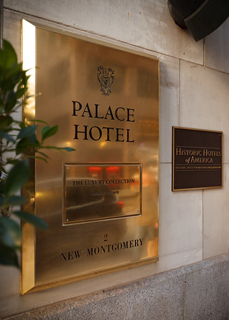 The Palace Hotel is a hotel in The Luxury Collection, but also part of the Historic Hotels of America
