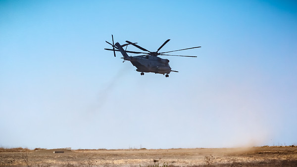Choppers at Marine Corps Base Camp Pendleton