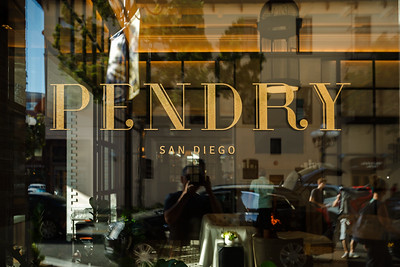 Peter, Linda, Valerie, and I check in at Pendry San Diego...right behind Jesse Tyler Ferguson and his husband Justin Mikita.  For some reason, I'm the only one who noticed him (and I didn't want to bother him by snapping a pic)