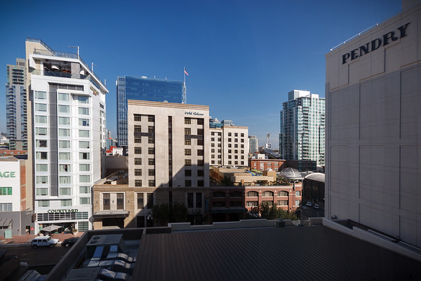 Our view of Gaslamp