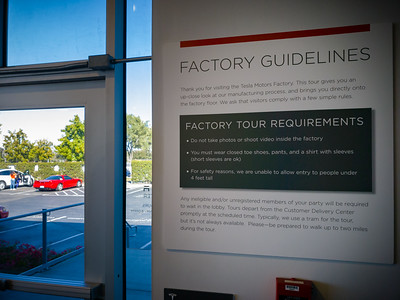 Unfortunately, I am not allowed to take photographs or shoot video inside the factory.  I had to leave my camera gear in the NSX...along with all of our luggage (since we are not returning to Point Richmond this trip)