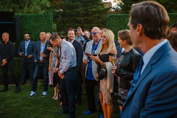 Acura Executive Creative Director Dave Marek stands out in the crowd