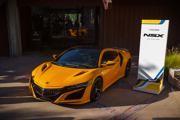 Acura NSX...the big news for 2020 is that it is now 100% more yellow!