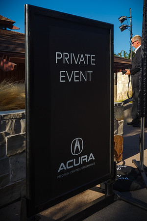 Entrance to Acura Private Event