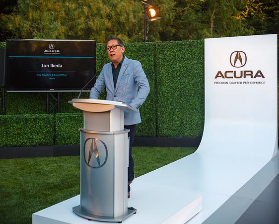 Jon Ikeda, President and Brand Officer of Acura