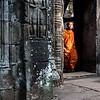 Buddhist Monk on Holiday