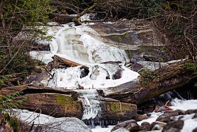 Down Below Shannon Falls