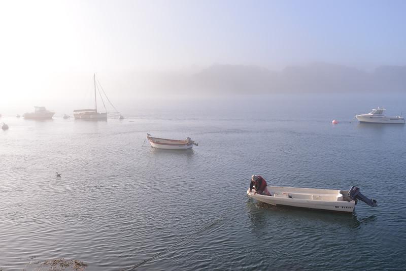 Port de Lilia au matin