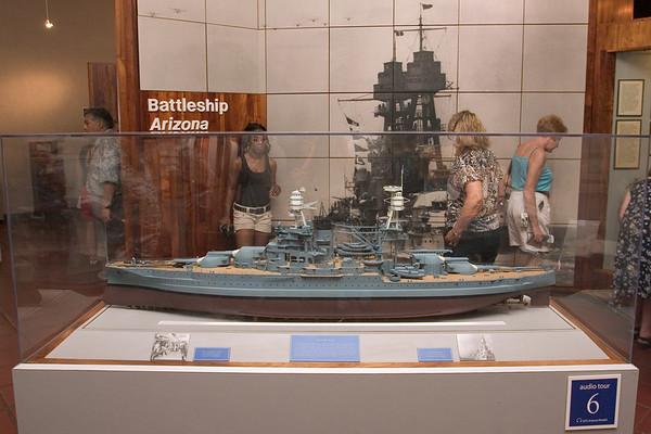 First stop, the USS Arizona Museum