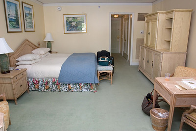 Our room is much larger and nicer than the Waikiki Marriott...